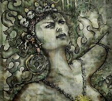 Ananda Dakini Vajrayogini by Ti Campbell-Allen