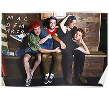 Mac Demarco + The Band Poster