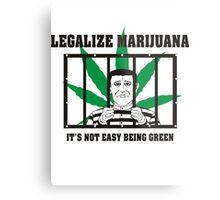 Legalize Marijuana Metal Print