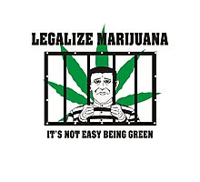 Legalize Marijuana Photographic Print