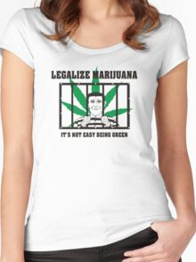 Legalize Marijuana Women's Fitted Scoop T-Shirt