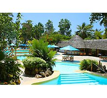 Travellers Vacation Resort in Mombasa, KENYA Photographic Print