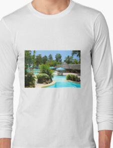 Travellers Vacation Resort in Mombasa, KENYA Long Sleeve T-Shirt