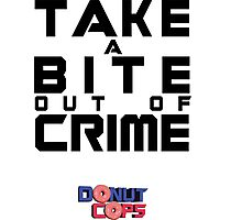 Take a bite out of crime Photographic Print