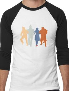 Off to see the Wizard. Men's Baseball ¾ T-Shirt