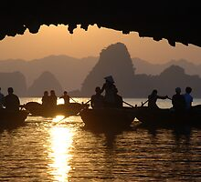 Halong Bay - Vietnam by Loachlover