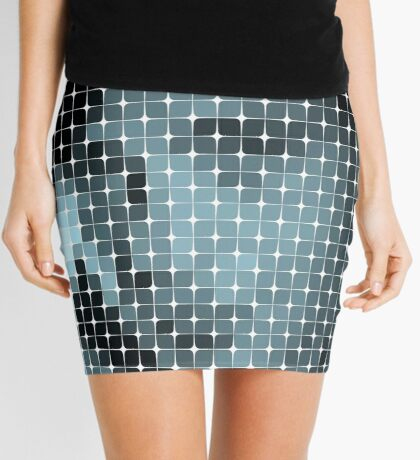 Lost In The Lingelbach Grid Mini Skirt