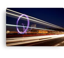 London Lines Canvas Print