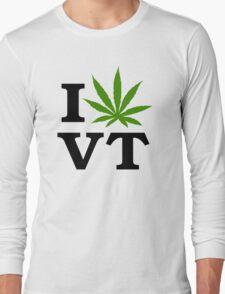 I Marijuana Vermont Long Sleeve T-Shirt