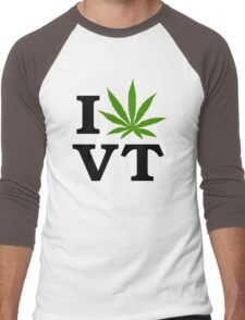 I Marijuana Vermont Men's Baseball ¾ T-Shirt