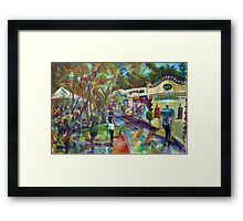 Art Bank Art Gallery Framed Print