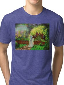 Hobbit home Tri-blend T-Shirt