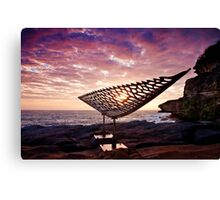 Bondi Sculptures By The Sea Canvas Print