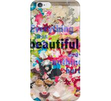 Everything was Beautiful II iPhone Case/Skin