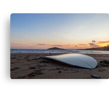 Surfboard beach Canvas Print