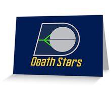 The Death Stars - Star Wars Sports Teams Greeting Card