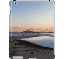 Surfboard beach iPad Case/Skin