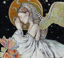 Praying Renaissance Angel by 1cscheid