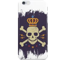 Skull and crown iPhone Case/Skin