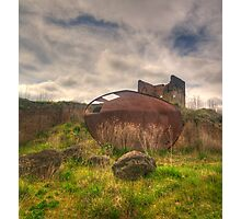 Rusted and Blasted - Blast Furnace Park - Lithgow NSW Photographic Print