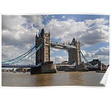 The Tower Bridge, London Poster