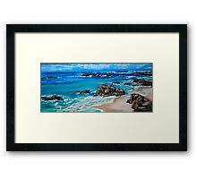 A Distant Shore Framed Print