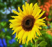 Sunflower - Impressions by Susie Peek