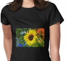 Sunflower - Impressions Womens Fitted T-Shirt