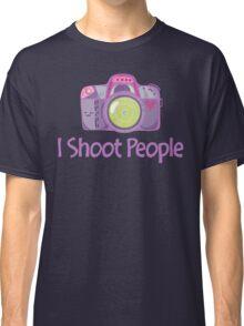 I Shoot People Cute Camera Photography T Shirt Classic T-Shirt