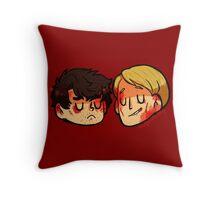 Hannigram1 Throw Pillow