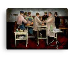 Veterinarian - Saving my best friend 1900s Canvas Print