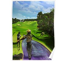 The 9th tee Twin Waters  Poster