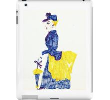 LADY OF YESTERYEAR  iPad Case/Skin