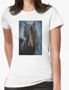 Friesian beauty Womens Fitted T-Shirt