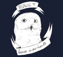 Hedwig, Forever on your Tshirt by dianneohdeer
