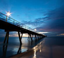 Glenelg Jetty  by Joseph Brown