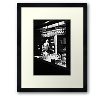 Before getting into trouble ... Framed Print