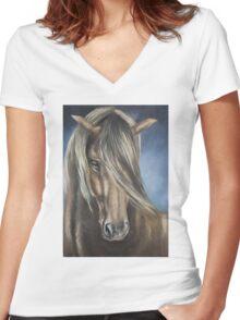 """"""" Tara """" Women's Fitted V-Neck T-Shirt"""