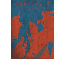 Far Cry 3 Game Poster  Photographic Print
