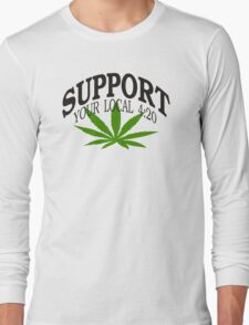 Marijuana 420 Long Sleeve T-Shirt