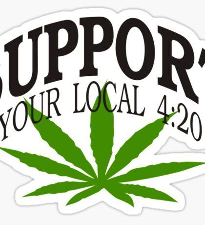 Marijuana 420 Sticker