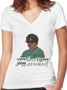 Beerfest - Barry Badrinath Women's Fitted V-Neck T-Shirt