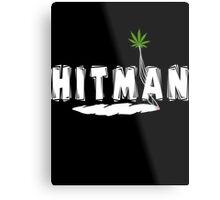 "Marijuana ""Hitman"" Metal Print"