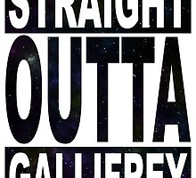 Straight Outta Gallifrey by kayve