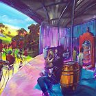 Eumundi Winery...Noosa Jazz  by robert (bob) gammage