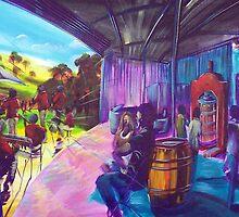 Eumundi Winery...Noosa Jazz  by tola