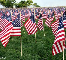 Honoring Those That Perished During 9/11 by © Loree McComb