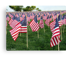 Honoring Those That Perished During 9/11 Canvas Print
