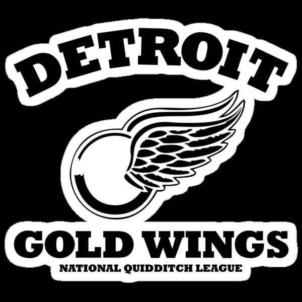 Detriot Gold Wings Home by SevenHundred