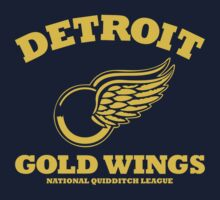 Detriot Gold Wings Away Kids Clothes